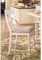 Paula Deen Home Counter Height Chair in Linen Finish (set of 2)