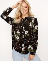 Girls On Film Printed Blouse