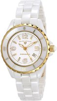 Swiss Legend Women's SL-10049-WWGA Karamica Ceramic Watch