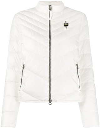 Blauer Zipped Quilted Jacket