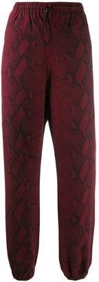 Alexander Wang Snake Print Trousers