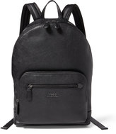 Ralph Lauren Pebbled Leather Backpack