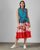 Ted Baker Fantasia Tiered Midi Dress