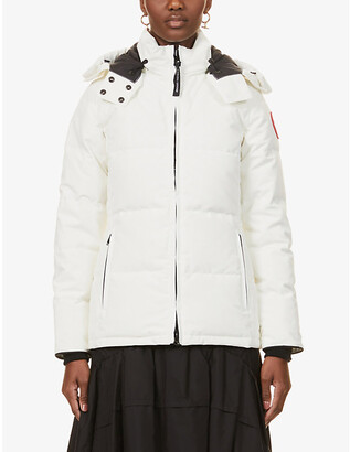 Canada Goose Chelsea hooded shell-down parka coat