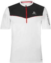 Salomon - Fast Wing Advancedskin Activedry Half-zip Top