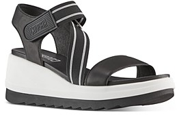 Cougar Women's Hibiscus Strappy Wedge Sandals