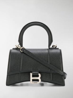 Balenciaga XS Hourglass top-handle bag