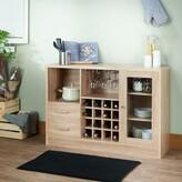 Pyburn Wooden Bar Cabinet Ebern Designs