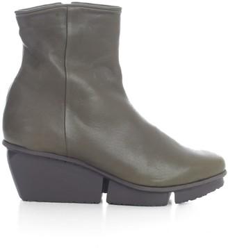 Trippen Ankle Boots W/big Heel