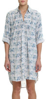 Papinelle Persian Stone Pleat Front Nightshirt