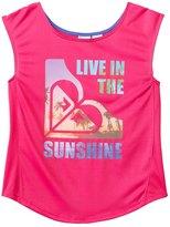 Roxy Girls' Active Sunshine Tee (7yrs16yrs) - 8132826