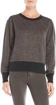 True Religion Metallic Knit Pullover
