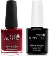 CND Creative Nail Design Vinylux Rouge Rite Nail Polish & Top Coat (Two Items), 0.5-oz, from Purebeauty Salon & Spa