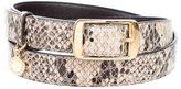 Stella McCartney Embossed Vegan Leather Belt