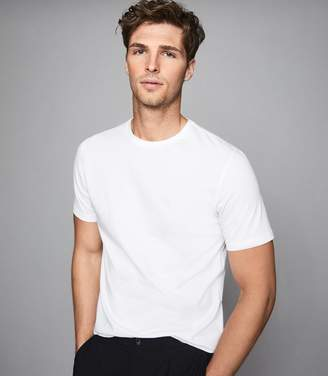 Reiss BLESS CREW NECK T-SHIRT White