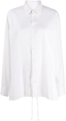 Maison Martin Margiela Pre-Owned Sequin Trim Shirt