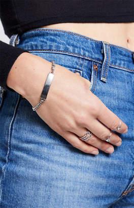 La Hearts Tag Bracelet