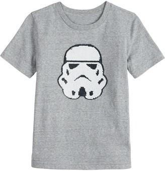 Sonoma Goods For Life Boys 4-12 Flip Sequins Star Wars Stormtrooper Tee