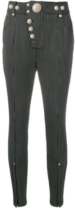 Alexander Wang Striped Skinny Trousers