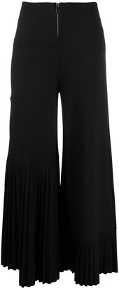 stagni 47 Pleated-Detail Flared Trousers
