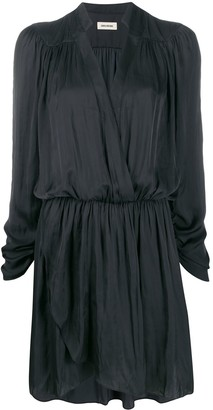 Zadig & Voltaire Reveal ruched style dress