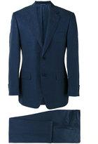 Canali two piece suit - men - Linen/Flax/Silk/Cupro - 48