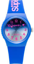 Superdry 3 Hands;Gradient Mirror Blue Dial