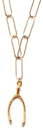 Alighieri The Lucky Break 24kt Gold-plated Necklace - Gold