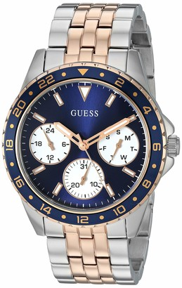 GUESS Women's Japanese Quartz Watch with Stainless-Steel Strap Two Tone 19.8 (Model: U1187L3)