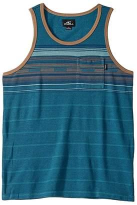O'Neill Kids Kids Wet Blanket Tank Top (Big Kids) (Dark Blue) Boy's Clothing