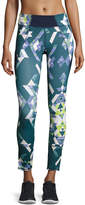Charlie Jade Geometric-Print Performance Leggings