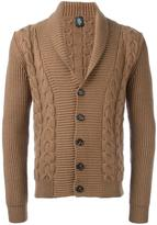 Eleventy shawl lape cardigan - men - Virgin Wool - XL
