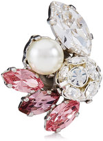 Jimmy Choo SPRING Camellia Mix Metal with Crystals and Pearls Shoe Clips