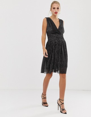 French Connection Marcelle shimmer dress