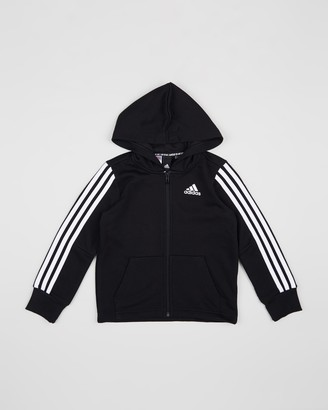 adidas 3-Stripes Full-Zip Hoodie - Kids-Teens