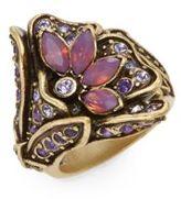 Heidi Daus Heavenly Bloom Swarovski Crystal Ring