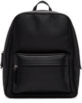Maison Margiela Black Leather Backpack
