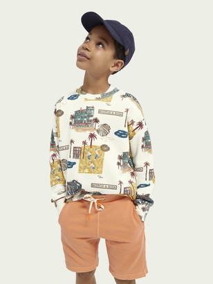Scotch & Soda All-over print crewneck sweater | Boys