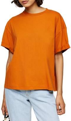 Topshop Boxy Roll T-Shirt