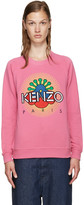 Kenzo Pink Tanami Flower Pullover