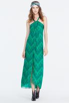 Diane von Furstenberg Lilita Chiffon Maxi Dress