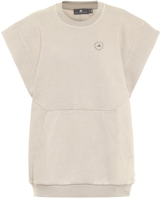 adidas by Stella McCartney Stretch-cotton sweatshirt