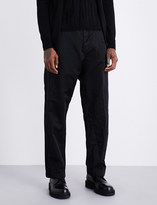 Comme des Garcons Regular-fit wide shell-twill trousers