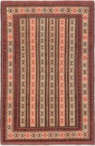 "Ecarpetgallery Hand-woven Ghafkazi Open Field 6'1"" x 9'1"" 100% Wool area rug"