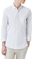 Topman Men's Muscle Fit Oxford Shirt