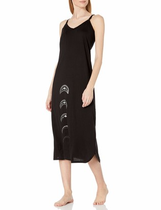 Belabumbum Women's Moon Goddess Maternity and Nursing Nightie/Robe Set