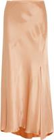 Nina Ricci Satin maxi skirt