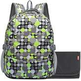 Damero Travel Backpack Diaper Bag with Changing Pad and Metal Loop for Stroller Hook