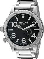 Nixon Men's A057-000 Stainless-Steel Analog Dial Watch