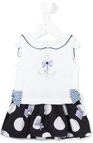 Lapin House - polka dot skirt dress - kids - Cotton/Spandex/Elastane - 18 mth